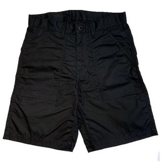 DOUBLE H /   PARRAFFIN FATIGUE SHORTS - BLACK