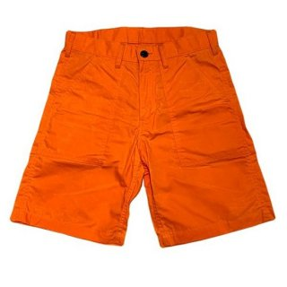 DOUBLE H /   PARRAFFIN FATIGUE SHORTS - ORANGE
