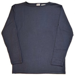 PINECONE x Tieasy / boatneck L/S  MIX BLUE