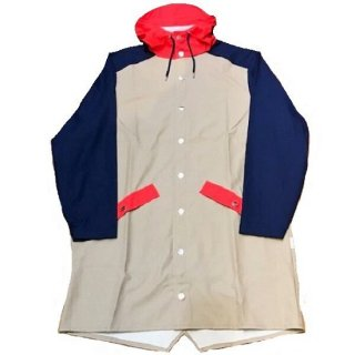 RAINS/Color Block Collection/Color Block Long Jacket