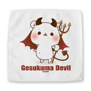 ミニハンドタオル【ゲスくま/Devil】