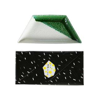 瀬戸焼 大皿(織部) 1枚ギフトボックス