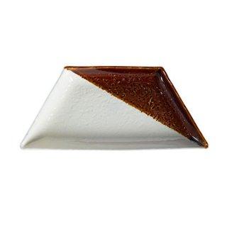 瀬戸焼 大皿(アメ) 1枚ギフトボックス