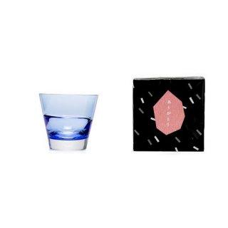 グラス「デュオ オールド」(ブルー)