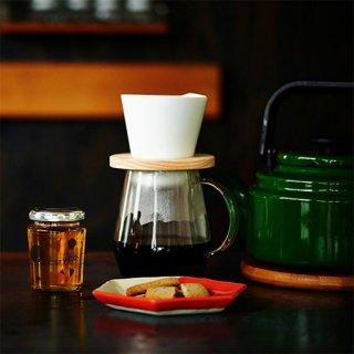 ドーナツ コーヒードリッパー「mountain coffee dripper」(白)
