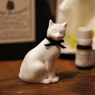 アロマオーナメント「Cat 猫」(黒_ユーカリ)