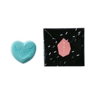 ハンドメイド入浴剤 HUG HEART BATH SALT(SAX)