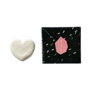 ハンドメイド入浴剤 HUG HEART BATH SALT(WHITE)