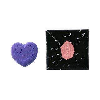 ハンドメイド入浴剤 HUG HEART BATH SALT(Lt. PURPLE)