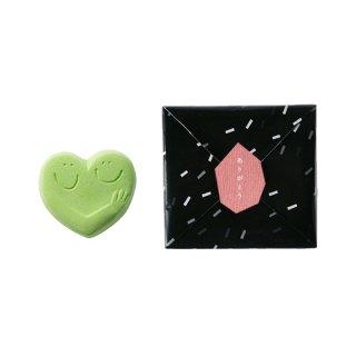 ハンドメイド入浴剤 HUG HEART BATH SALT(LIME GREEN)