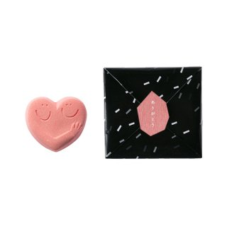 ハンドメイド入浴剤 HUG HEART BATH SALT(PINK)