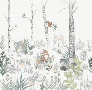 Magic Forest Mural / 7481 / Newbie Wallpaper / Borastapeter