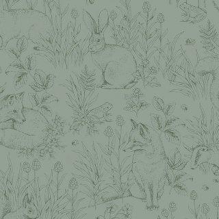 Forest Friends / 7477 / Newbie Wallpaper / Borastapeter