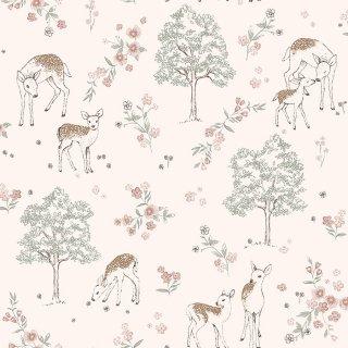 Deer Love / 7473 / Newbie Wallpaper / Borastapeter