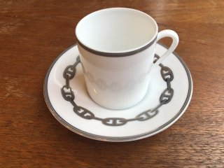 HERMES CUP & SAUCER