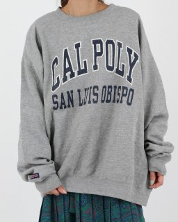<img class='new_mark_img1' src='//img.shop-pro.jp/img/new/icons20.gif' style='border:none;display:inline;margin:0px;padding:0px;width:auto;' />【SALE】GREY CAL POLY Sweat
