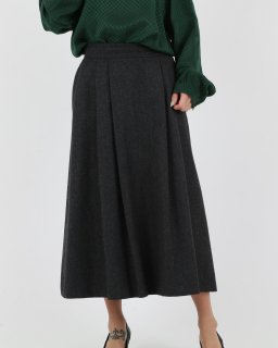 <img class='new_mark_img1' src='//img.shop-pro.jp/img/new/icons20.gif' style='border:none;display:inline;margin:0px;padding:0px;width:auto;' />【SALE】Flannel GRAY Skirts