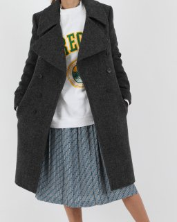 <img class='new_mark_img1' src='//img.shop-pro.jp/img/new/icons20.gif' style='border:none;display:inline;margin:0px;padding:0px;width:auto;' />【SALE】BALENCIAGA FLANNEL COAT