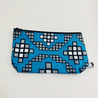 【AFRICAN Printed Pouch】