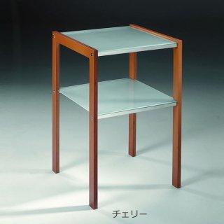 サイドテーブル/電話ラック/TWENTY 0/20  イタリア組立家具pezzani(幅40奥行40高さ61cm)