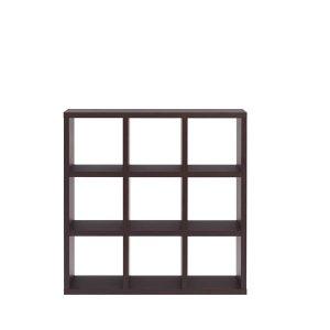 フナモコ縦横自在両面シェルフFREEDOM 3段3列(レベッカオーク 幅114.7奥行29.7高さ114.5 F☆☆☆☆完成品)