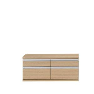 新ラチス フナモコ|ローチェスト(エリーゼアッシュ 幅109.6x高さ47.6 完成品)