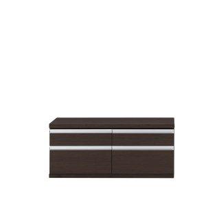 新ラチス フナモコ|ローチェスト(レベッカオーク 幅109.6x高さ47.6 完成品)