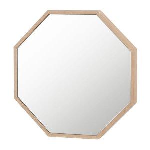 八角形ウォールミラー/壁ピタ(幅36高さ36cm)