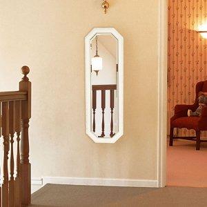 優雅で気品あるクラシックフレーム ウォールミラー(幅40高さ120cm)