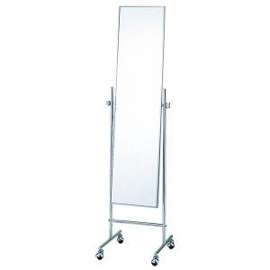 キャスターミラー/角度調整可能(スチール 幅40.2x高さ152.2cm)