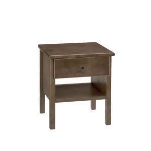 カントリー調リビング サイドテーブル スパーダ5129 木目ウレタン塗装 幅40奥行40高さ45cm