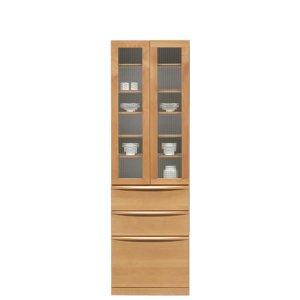 アルダー材食器棚(幅60x奥行48.5x高さ195.5)