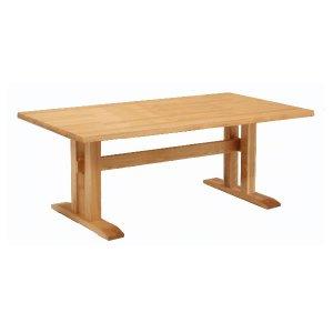 ダイニングテーブル/天然木タモ材(幅165x奥95x高さ69)
