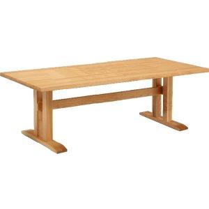 ダイニングテーブル/天然木タモ材(幅200x奥100x高さ69)