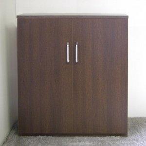 オーダー家具制作事例0317:カウンター下収納/開き扉3台(幅81x奥行18x高さ88.5)