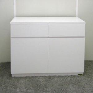 オーダー家具制作事例0382:カウンター下チェスト(幅90x奥行40.5x高さ66)