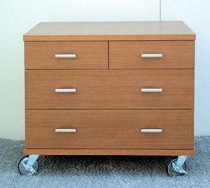オーダー家具制作事例0249:「リセット」3段チェスト
