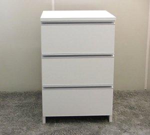 オーダー家具制作事例0499:洗面所チェスト(幅53x高さ90x奥行45cm)
