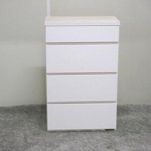 オーダー家具制作事例0502:引き出し4段(高さ71.5x幅45x奥行23cm)
