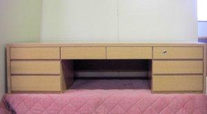オーダー家具制作事例0275:文机(特注)幅155