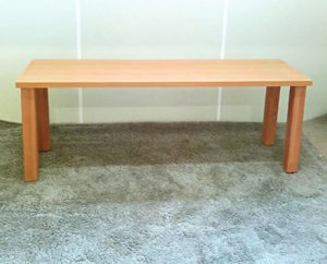 オーダー家具制作0575事例:ダイニングテーブル(幅140x奥40x高さ50)