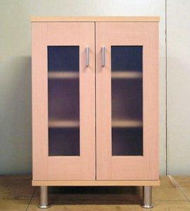 オーダー家具制作事例0260:「リセット」キャビネット 幅50高さ75