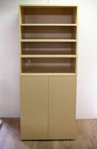 オーダー家具制作事例0297:TVラック収納(オープンラック2台)
