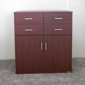 オーダー家具制作事例0385:店舗用キャビネット/2台(幅70/85x高さ90)