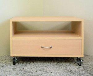 オーダー家具制作事例0133:リビング テレビラック2段