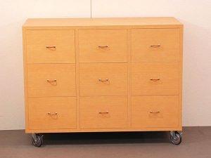 オーダー家具特注製作:チェスト メールボックス