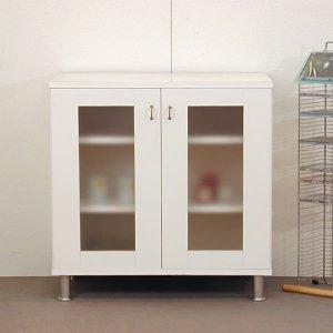 オーダー家具特注製作:キャビネット リセット(ホワイト)