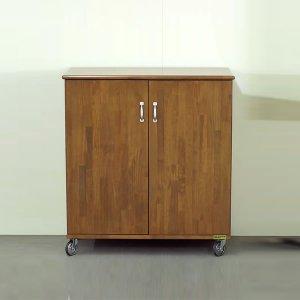 オーダー家具特注製作:キャビネット(集成材)