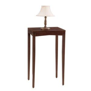 ハイスタンド/シンプル木製(ダークブラウン/幅40x高さ68cm)