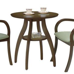 レストテーブル ダーク色(幅65x奥行65x高さ70.5)